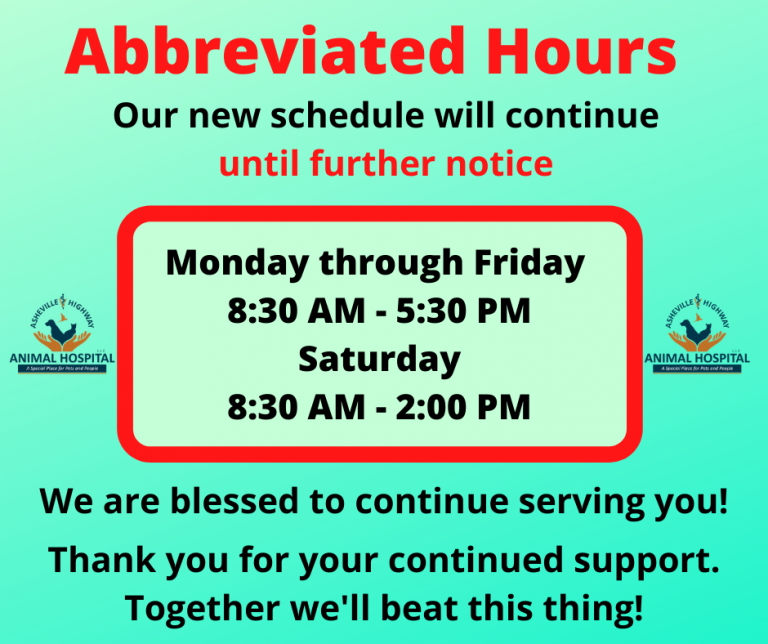 Abbreviated Hours